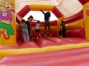 Medieval bouncy castle...!?