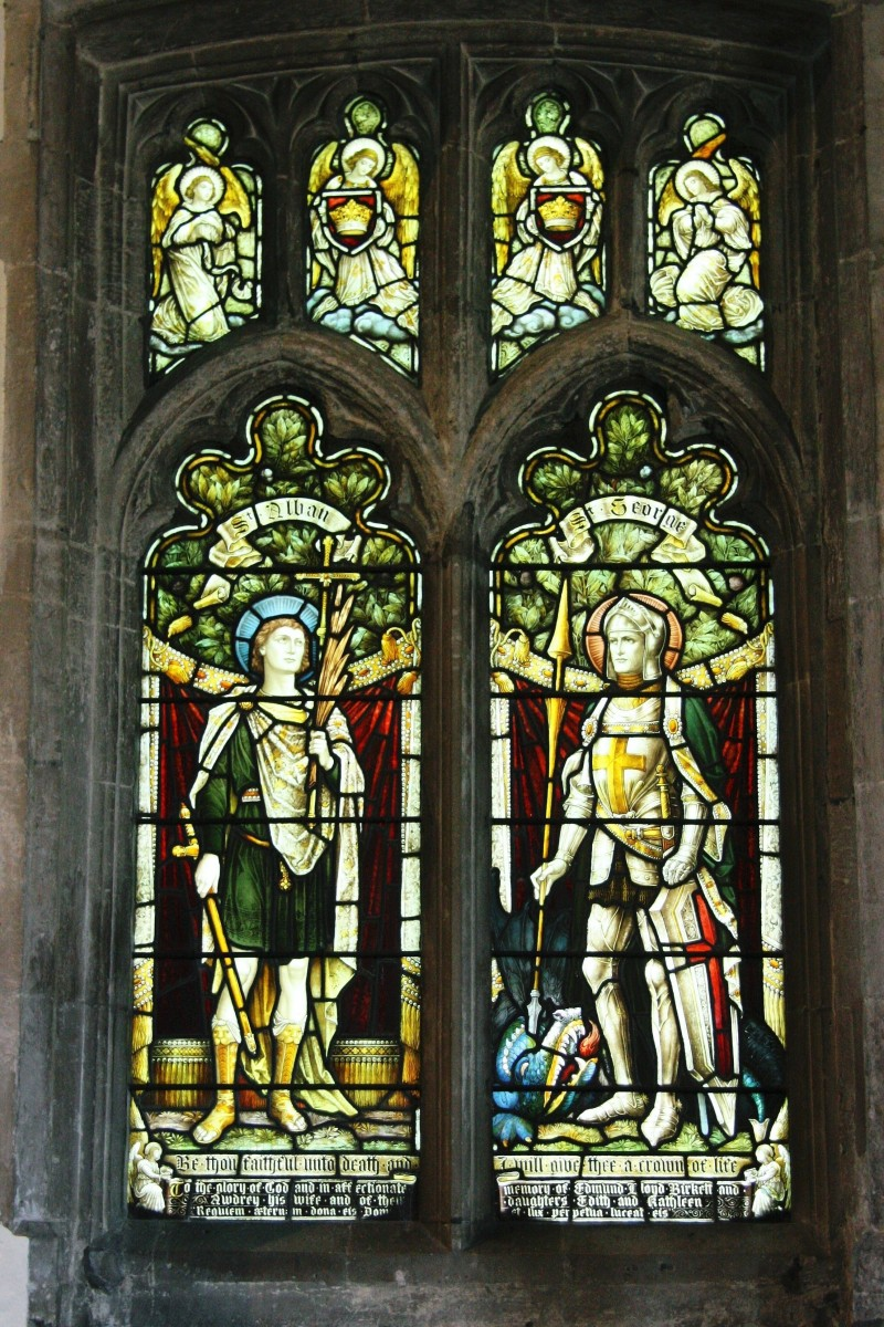 North Aisle window of Westbourne Church
