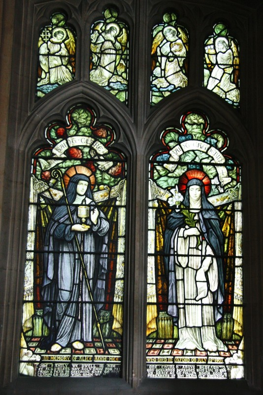 St Clare & St Catherine