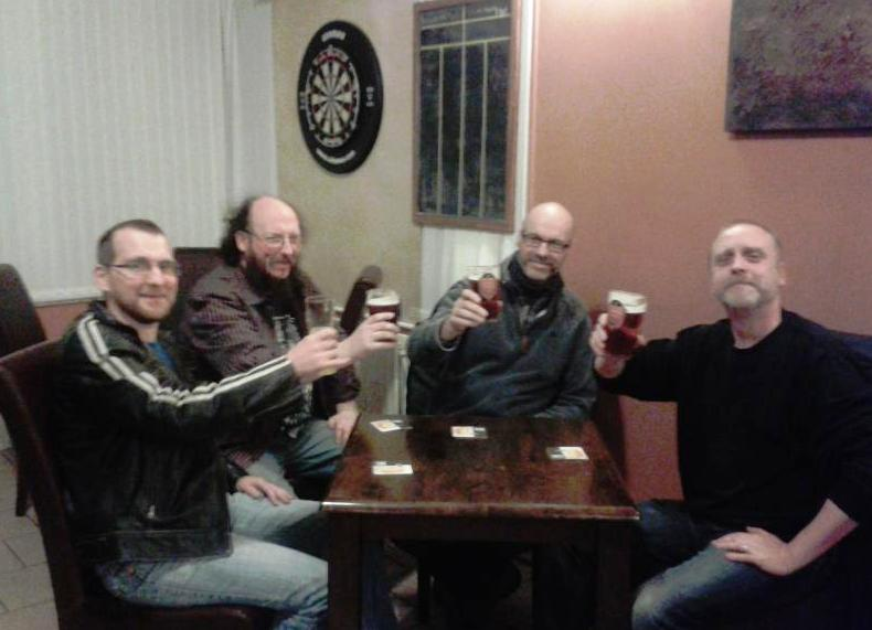 Men in the pub