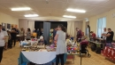 Stalls in the Community Centre hall