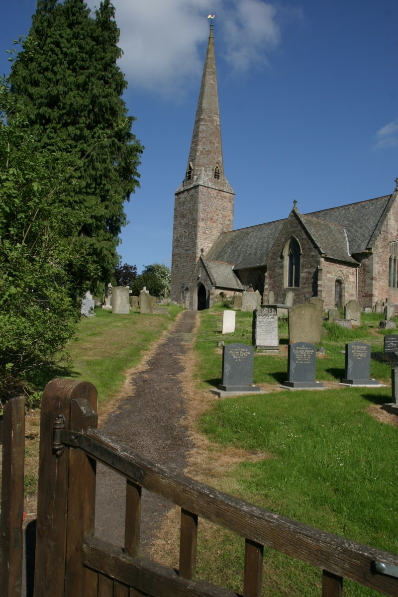 Photograph of St Giles Church Goodrich