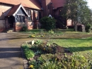The garden at St Anne's Church
