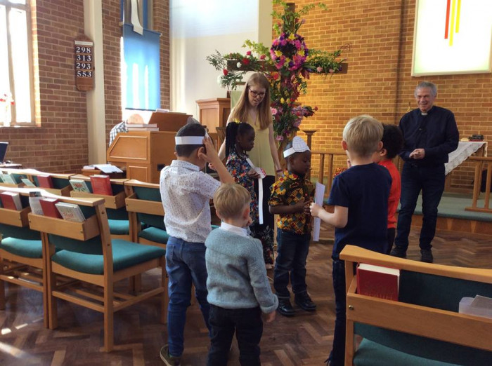 Easter at Maldon with Rev Barry Allen