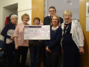 Presentation of Cheque to Salvation Army
