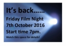 Click here to view the 'Film Nights' album