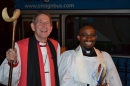 Bishop Of Barking- Rt. Rev. David Hawkins and Rev. Cornelius Henry