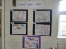 Artwork done by young people for harvest