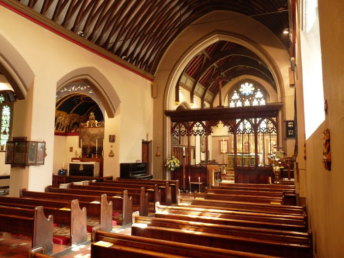 St Martin's Nave and side chapel