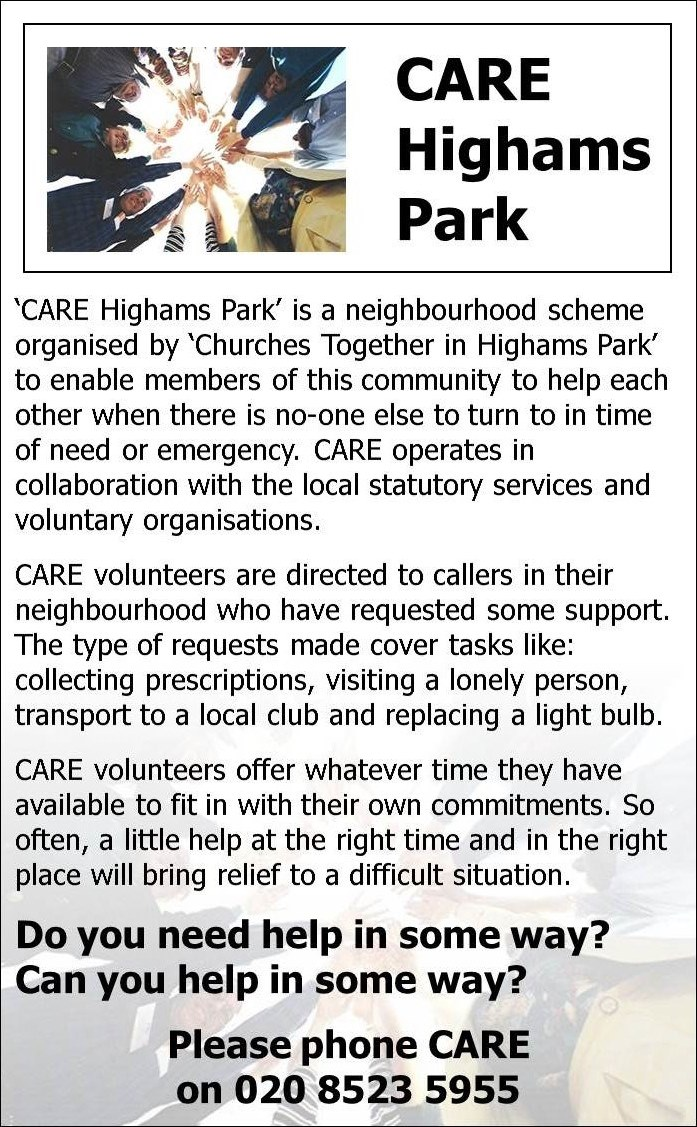 Care Highams Park