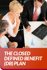 THE CLOSED DEFINED BENEFIT(DB) PLAN