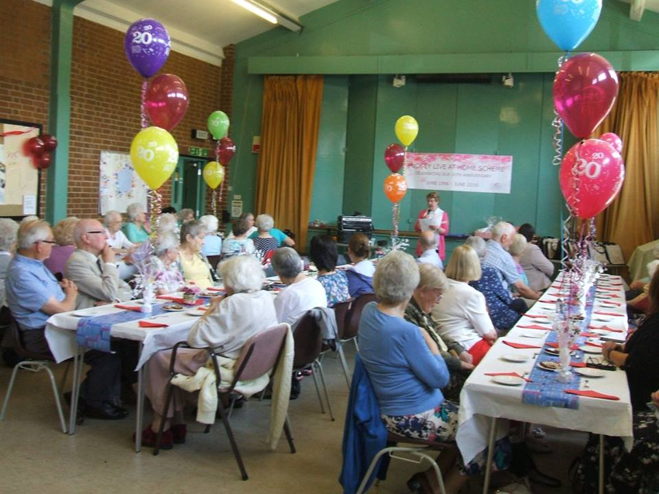 Celebrating 20 years of Pudsey Live at Home Scheme at St. Andrew's, June 2016