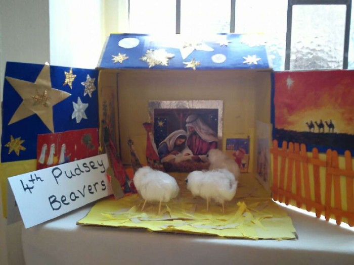 4th Pudsey Beavers Nativity
