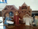 Needlework Nativity
