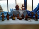 A Nativity Scene from one of the windows