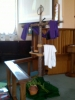 Lenten Cross - Palm Sunday
