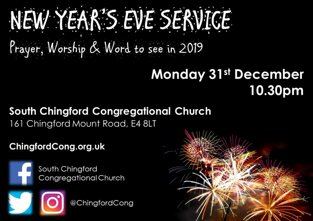 South Chingford Congregational Church | New Year\'s Eve