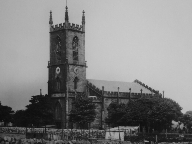 Photo of original St Matthews Church