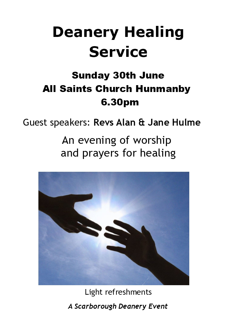 All Saints Church Hunmanby | Healing Service