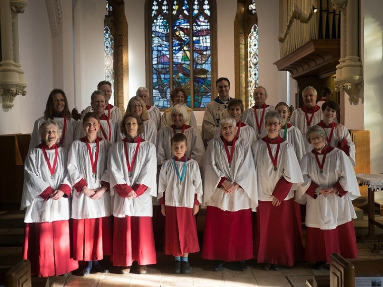 The Choir of Christ Church Eaton