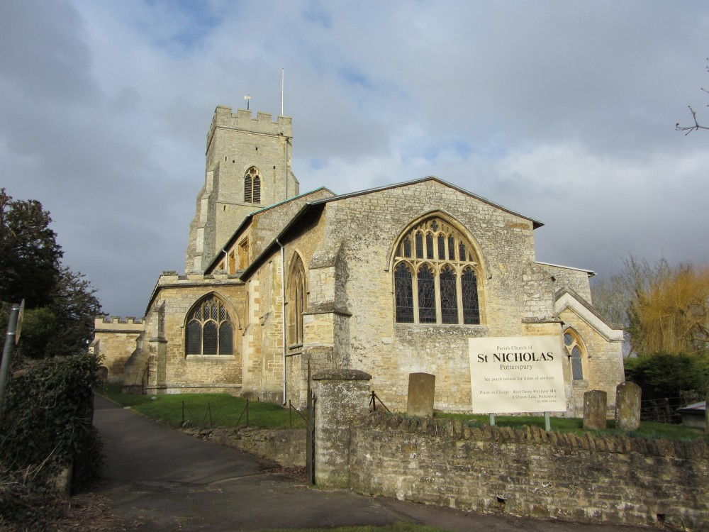 St Nicholas Church Potterspury
