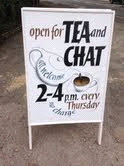 Tea and chat board
