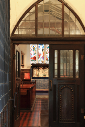 Picture of doors into St John's