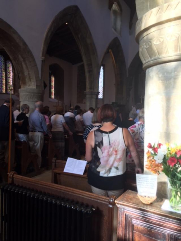 Deanery Evensong led by Bishop John 22nd July 2018