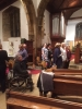Community Choir practice at St Mary's, Grendon