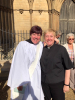 Rev'd Paula and our new curate Amanda Oliver