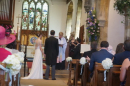 Wedding at St Mary's, Grendon, June 2018