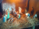 The crib scene in Donisthorpe church