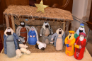 Crib scene from Packington Church