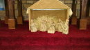 A crib scene from Measham church