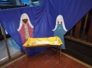 Measham church nativity scene