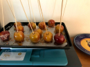 Toffee apples