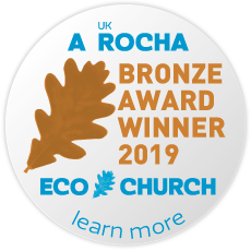 eco church bronze award badge