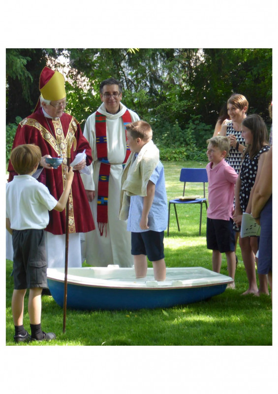School Confirmation and Baptism Service July