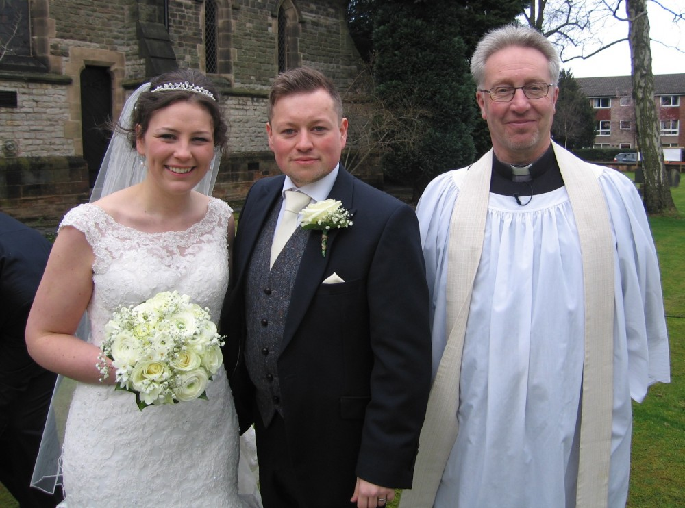 Emily and Graham married on Easter Monday