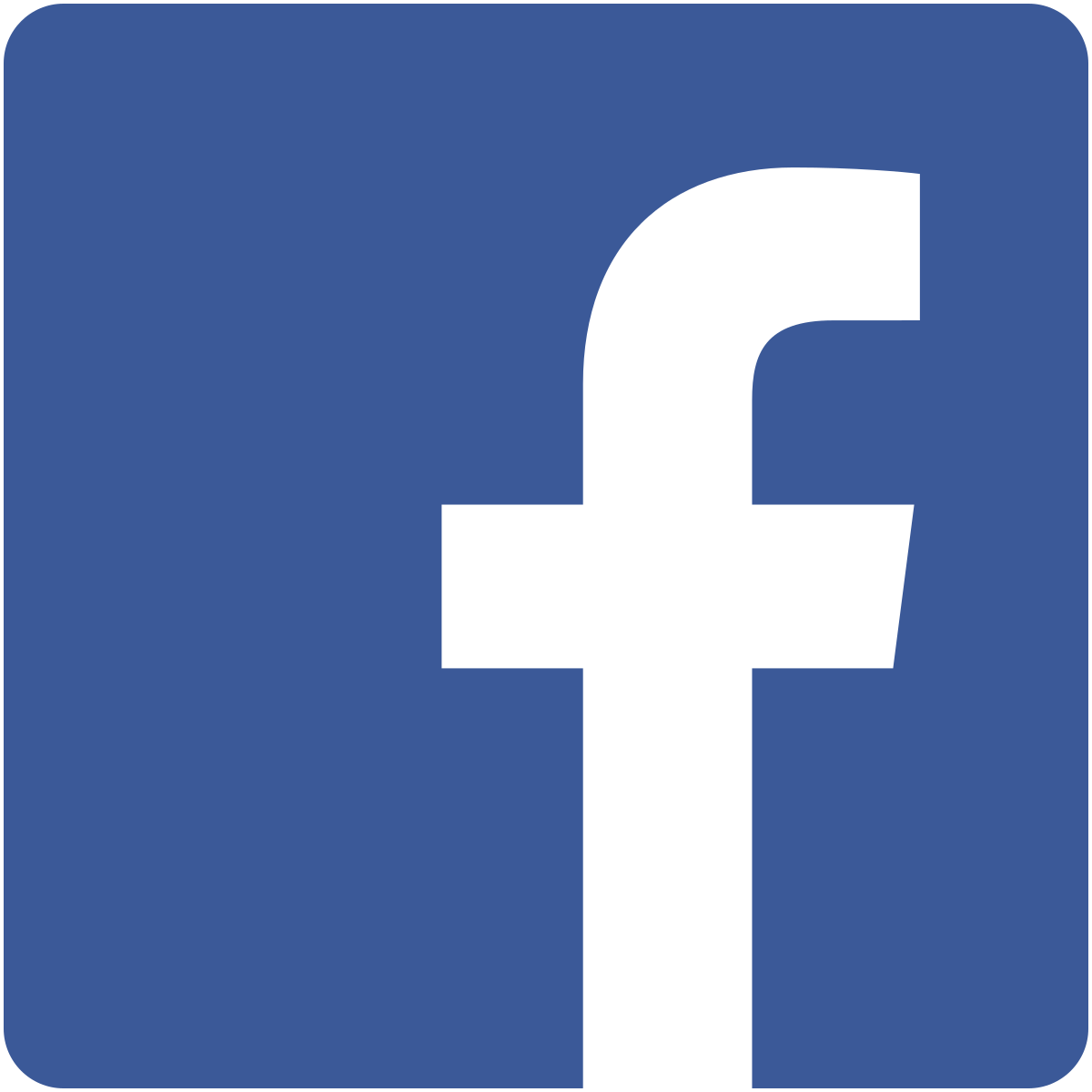 Facebook icon linking to our facebook page.