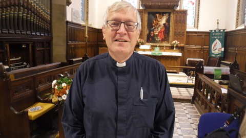 Vicar Paul Tudge