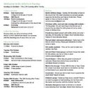 Open Church Notice Sheet - Sunday 29 November 2020