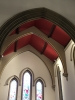 Chancel ceiling and archway