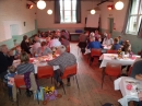 Harvest lunch in the Village Hall