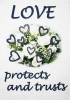 Love protects and trusts