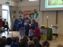Younger children leading aspects of worship