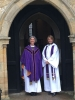 The Right Rev Jo Bailey Wells and Revd Sarah Brough 04 03 18