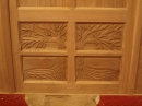 St Michael's Chancel - Oak tree carving