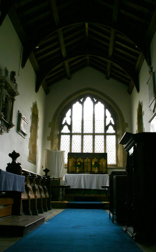 Pews and organ in St Mary Magdalene & St Andrew
