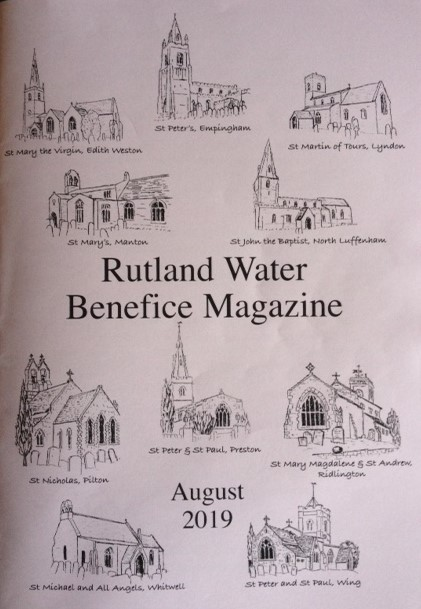 Rutland Water Benefice Magazine front cover
